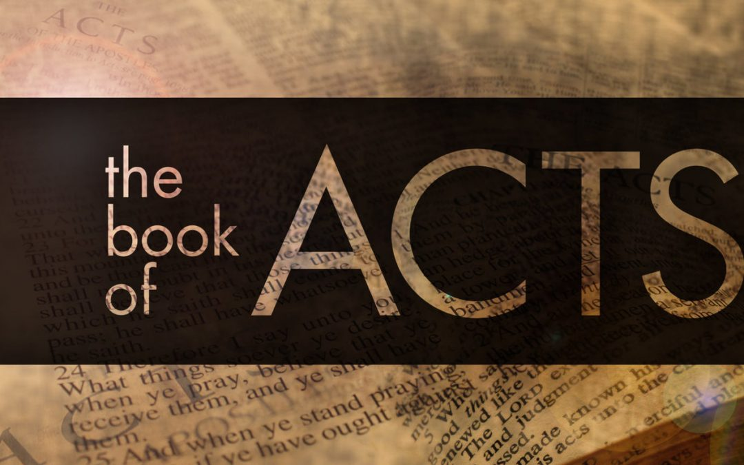 Book of Acts Sermon Series