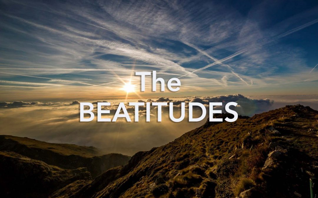 """""""The Pursuit of Happiness: A Look at the Beatitudes"""" – Sermon Series Beginning April 25"""