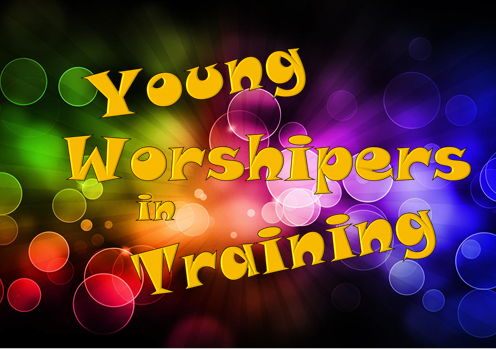 Young Worshipers in Training