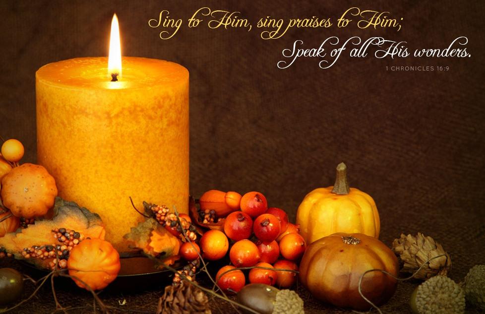 Thanksgiving Eve Service                  Nov. 22nd